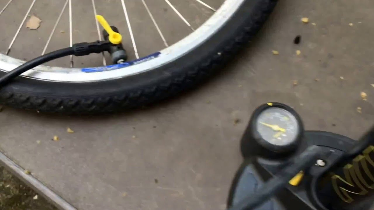 How To Pump Up A Bicycle Tyre Joe Blow Mountain Bike French Presta