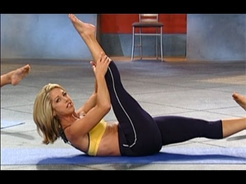 Denise Austin Abs Back Workout Level 2 Youtube