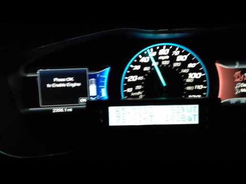 C-Max Energi 0-60 in EV mode