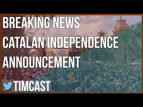 BREAKING: Catalonian Independence Referendum announcement.
