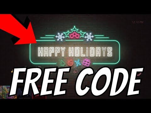 """FREE PS4 THEME HAPPY HOLIDAYS 2018 PlayStation """"FREE PSN CODE in email"""""""