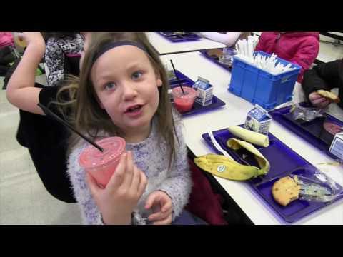 Smoothies at Deposit Elementary School