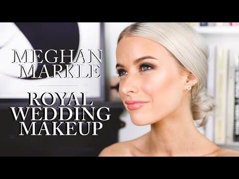 MEGHAN MARKLE ROYAL WEDDING MAKEUP LOOK | INTHEFROW