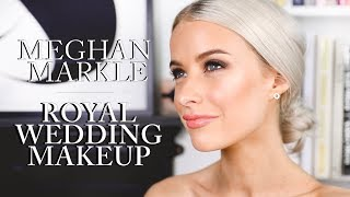 MEGHAN MARKLE ROYAL WEDDING MAKEUP LOOK | INTHEFROW