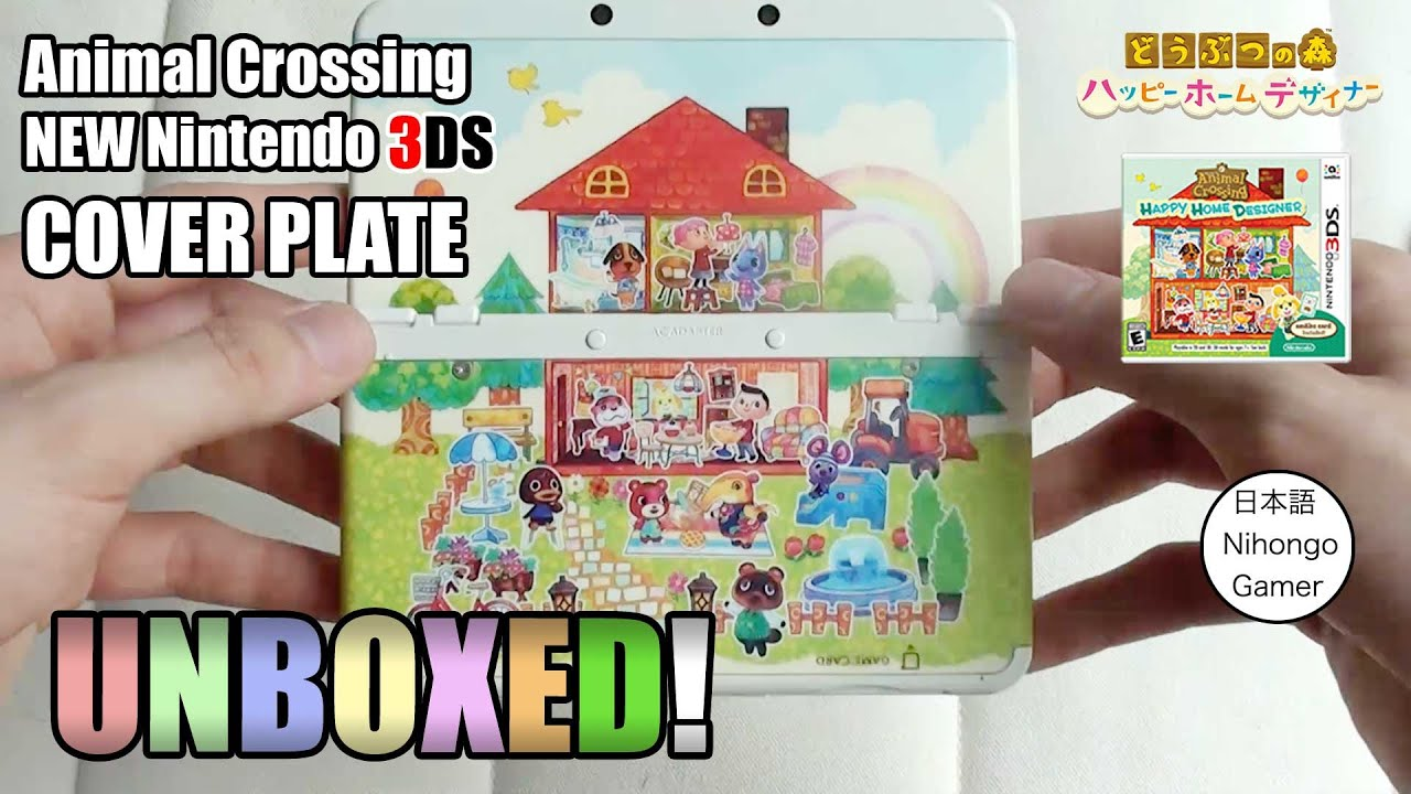How To Be A Home Designer Animal Crossing Happy Home Designer Cover Plate New 3ds