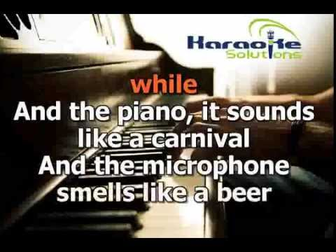 Billy Joel - Piano man - Karaoke