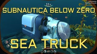 Gambar cover Subnautica Below Zero early access: The Sea Truck