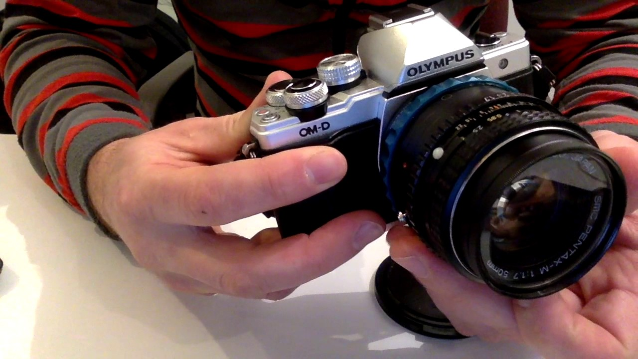 Novoflex adapter for using Pentax K lenses on Micro Four thirds cameras
