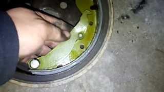 Замена тормозных колодок и барабанов на опель вектра (дэу ланос)