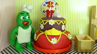 Green Baby in BIG WEDDING CAKE - Clay Stop Motion Cartoon For Kids thumbnail