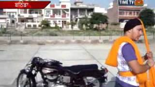Turbanator Manjeet Singh Ferozpuria Turban Coach Bathinda 94635-95040 Pagg Banani Sikho