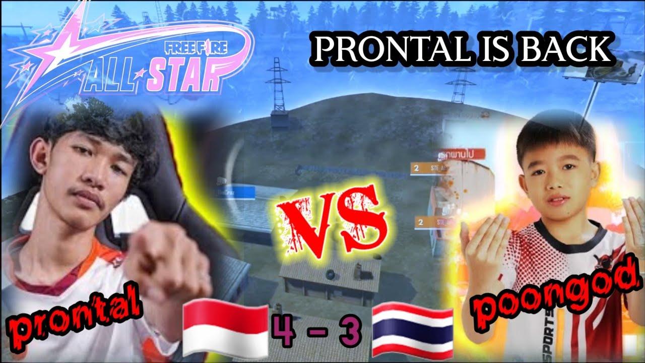 PRONTAL GAMING 🇮🇩 VS 🇹🇭 POONGOD si bocil ajaib    asia all star series 2021