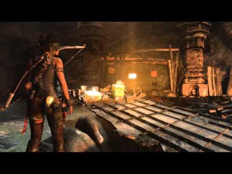 Tomb Raider - Shantytown Treasure Map Location 2 of 2 Tombs HD
