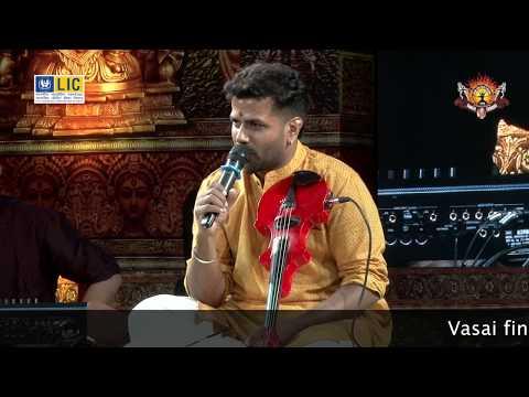 Bala Bhaskar  And Team Performing Thillana Fusion In Vasai Fine Arts Festival 2016