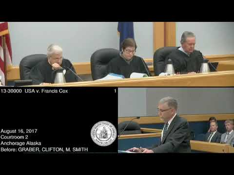 US v. Cox in Ninth Circuit USCoA