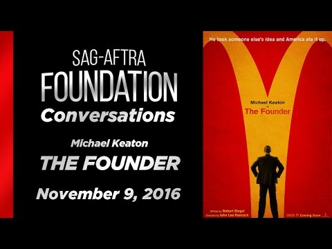 Conversations with Michael Keaton of THE FOUNDER