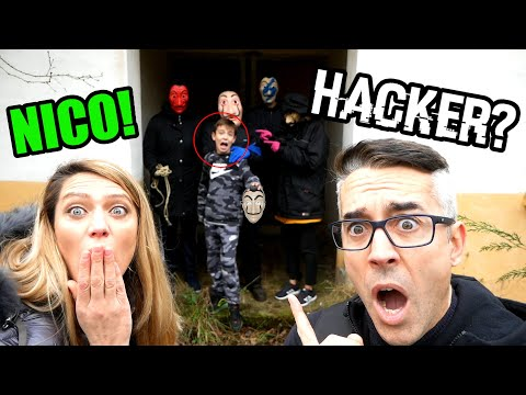 NICO ESTA EN EL CUARTEL HACKER!!