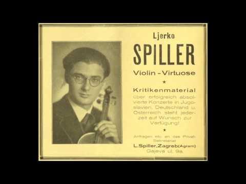 Ljerko Spiller, violinista