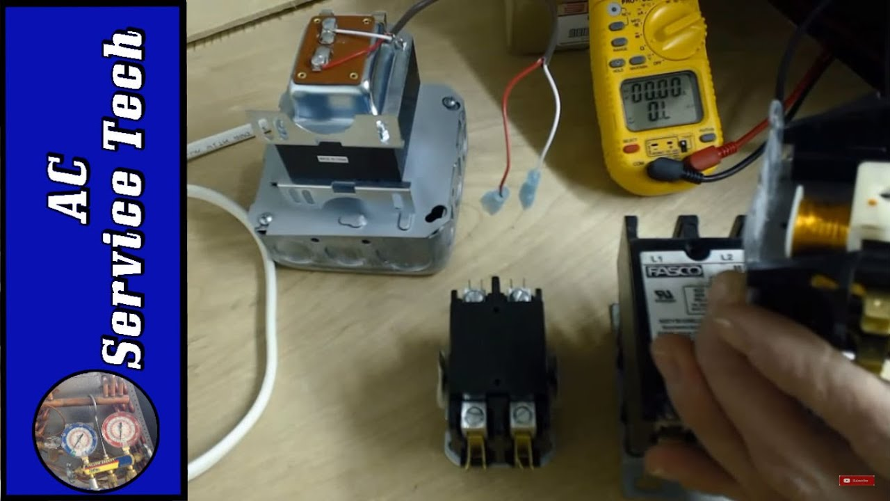 medium resolution of contactors explained and tested wiring troubleshooting problems ratings and visual power up
