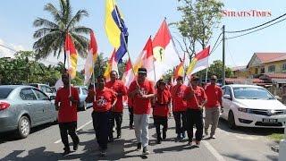 Perlis Umno Flag Run kicks off in Padang Besar