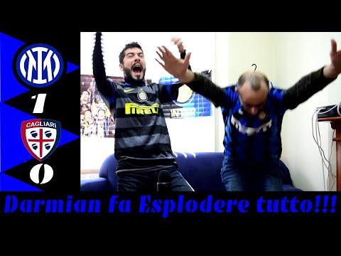 Inter Cagliari 1-0 Darmian fa Esplodere tutto!!! [Live Reaction] - Interista Forever