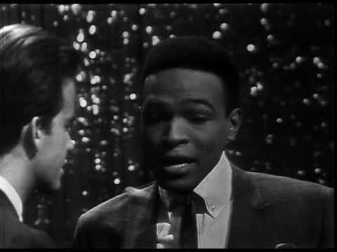 American Bandstand 1965- Interview Marvin Gaye