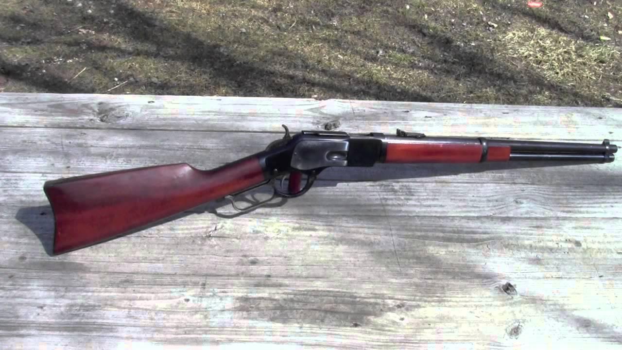 Uberti 1873 Carbine - YouTube