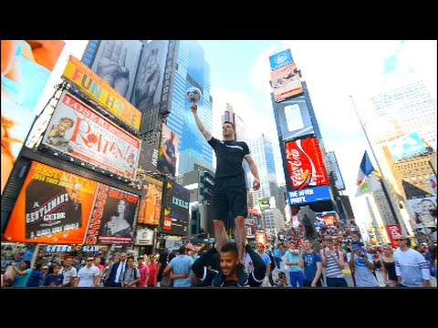 Amazing Times Square TAKE OVER | F2Freestylers