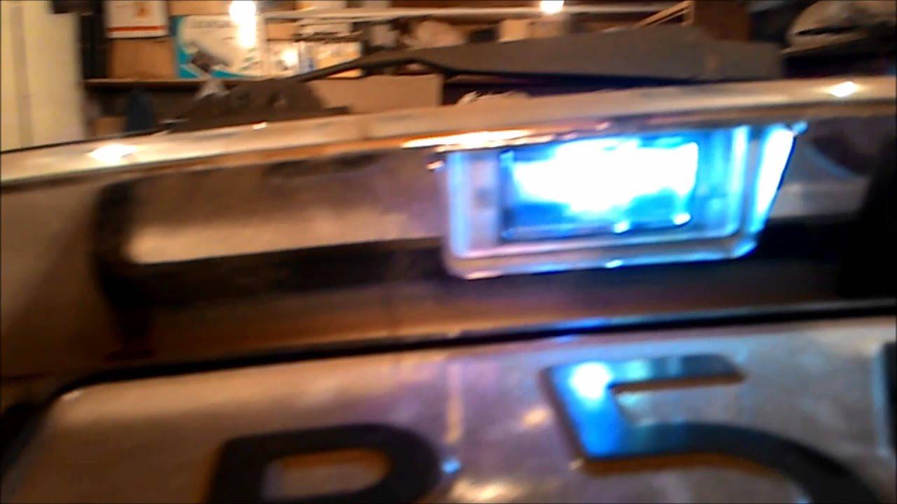 Lada Priora - замена ламп подсветки номера