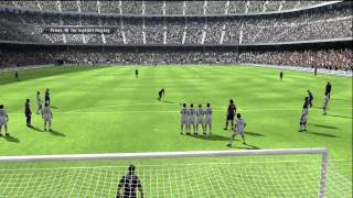 Fifa 10 Gameplay Real Madrid vs Barcelona FC Part 1   HD
