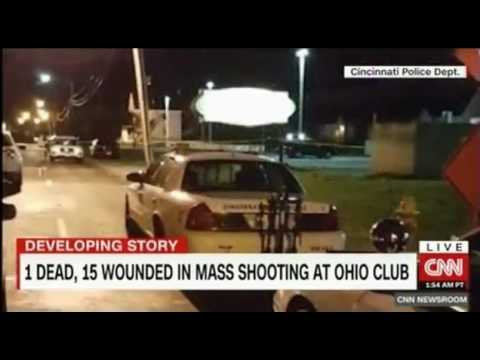 1 Dead, 15 wounded in at Cameo cameo nightclub cincinnati