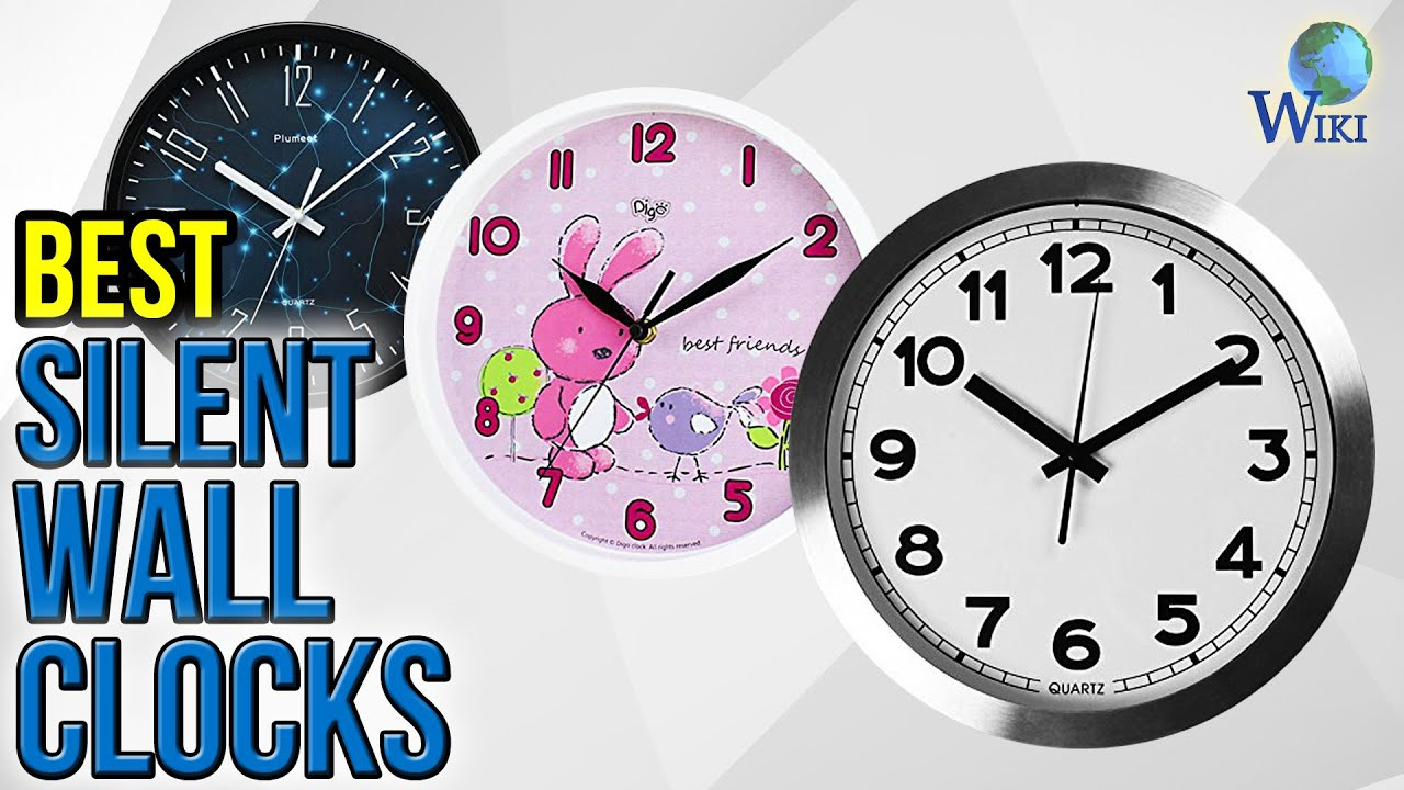 10 best silent wall clocks 2017 youtube 10 best silent wall clocks 2017 amipublicfo Gallery