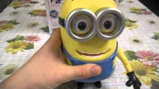 Відео огляд іграшки Міньйон з мультфільму '' ГИДКЕ Я ''