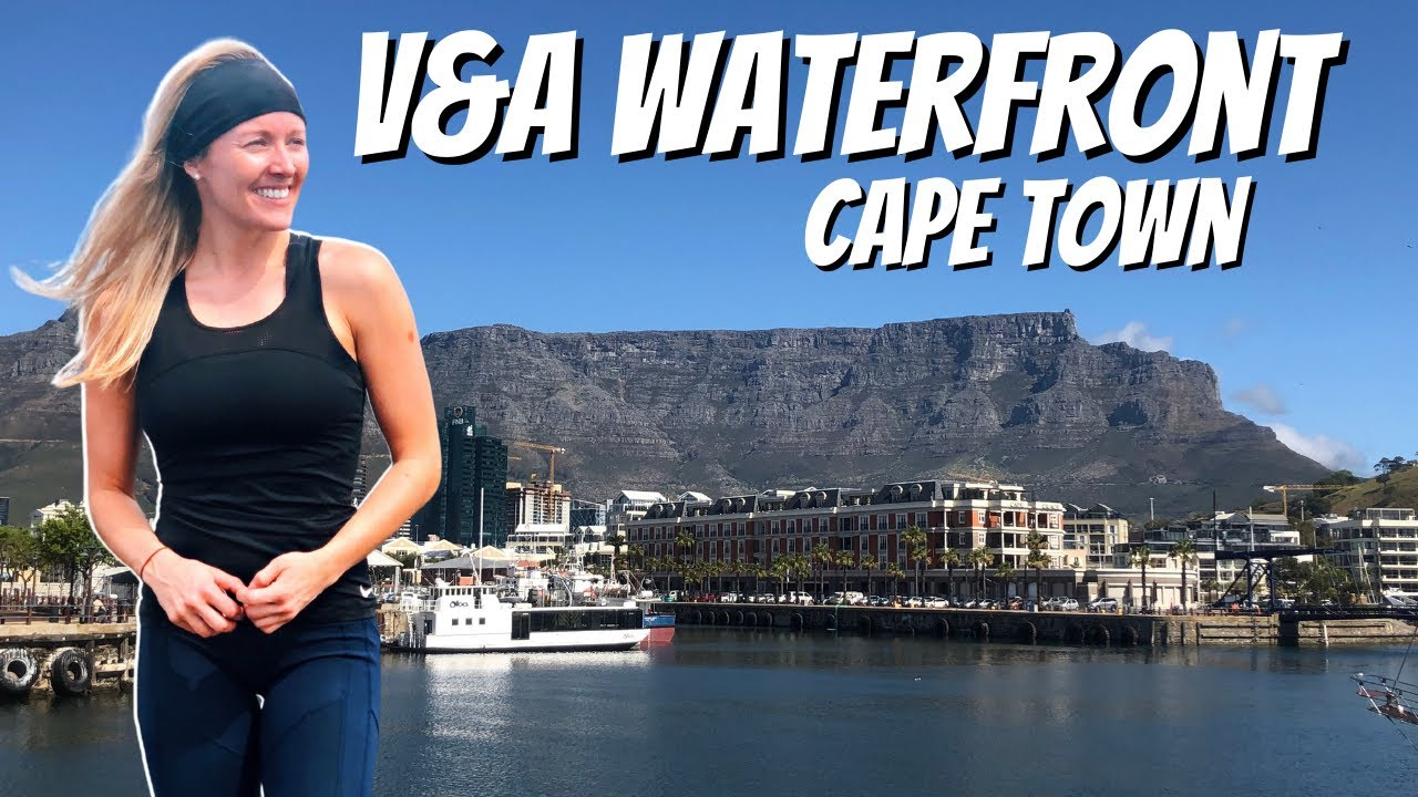 V&A Waterfront   Victoria and Alfred Waterfront   Table Bay Harbour Cape Town South Africa #Shorts