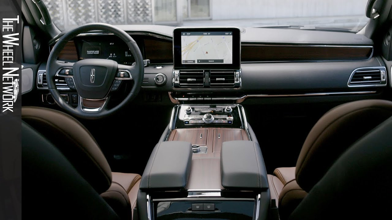 2020 Lincoln Navigator With Monochromatic Package Interior