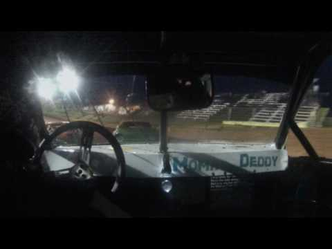 Lancaster Speedway 5-28-16 Heat Race Alexus Motes Rain Out/Motor Problems