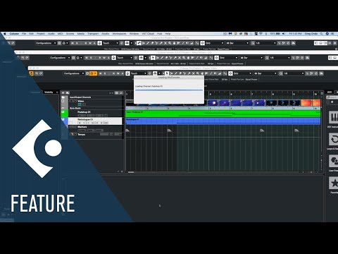 Workflow Enhancements | New Features in Cubase 10.5