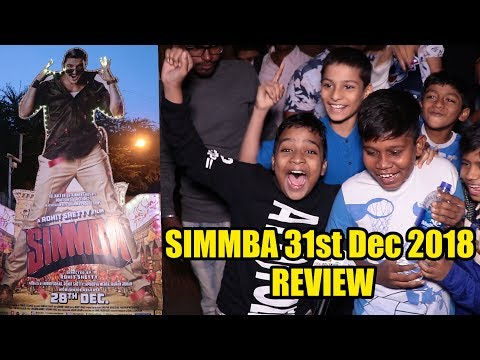 Simmba Movie Review | 31st Dec 2018 DHAMAKA Review | Ranveer Singh, Ajay Devgn, Sara Ali Khan