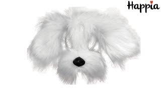 Маска белой собаки