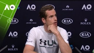 Andy Murray press conference (1R) | Australian Open 2017