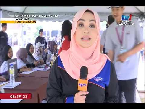 SPM 2018 -  LANGSUNG: PRK PARLIMEN PORT DICKSON [13 OKT 2018]