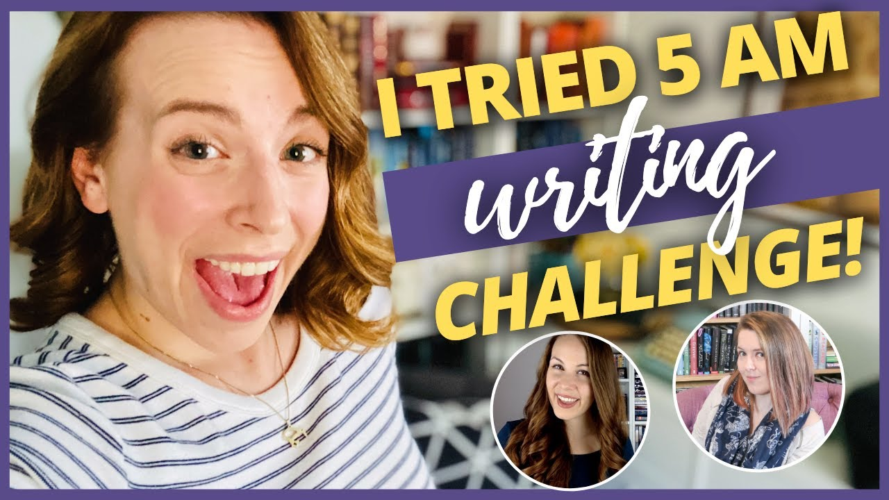 📸 5AM WRITER VLOG | I tried Writing at 5am for a week! #5amwriterchallenge