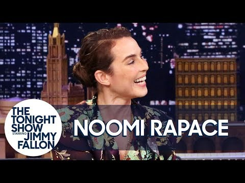 Noomi Rapace's English Is Basically An Impression Of Jimmy Fallon
