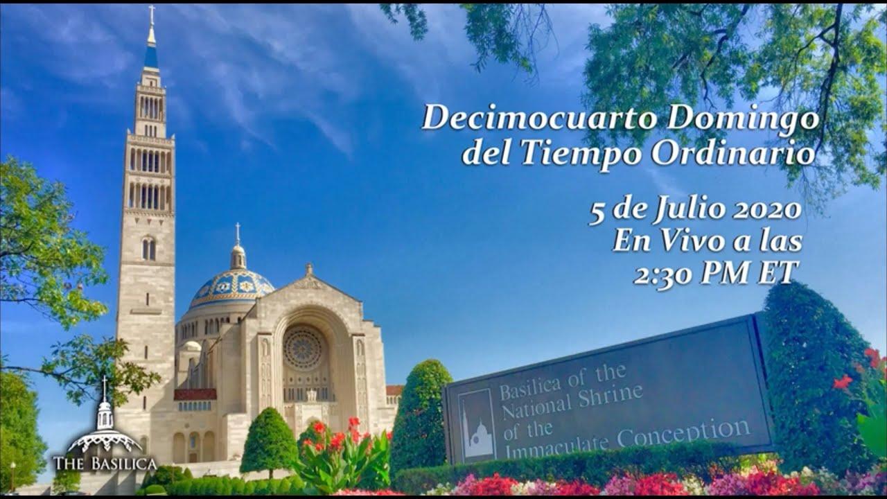 La Misa el 14th Domingo del Tiempo Ordinario