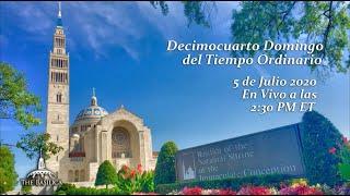 La Misa el 14º Domingo del Tiempo Ordinario