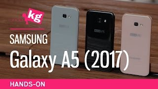 Samsung Galaxy A5 (2017) Hands-On: In 3 Colors! [4K 60fps]