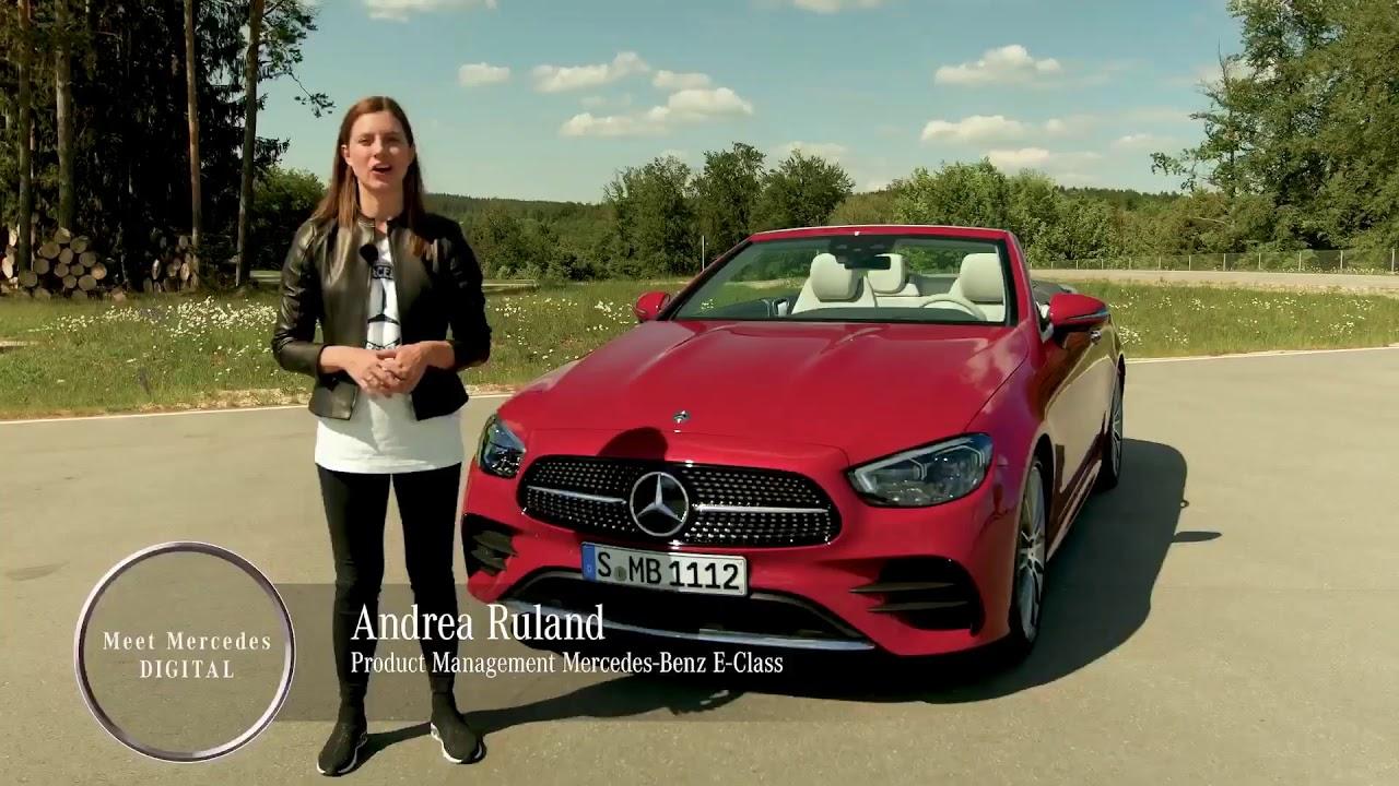 2021 Mercedes E-Class Cabrio - Detailed Look - YouTube