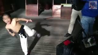 Ryusei Imai in Oolong Film studio - Kungfu Boy growing star