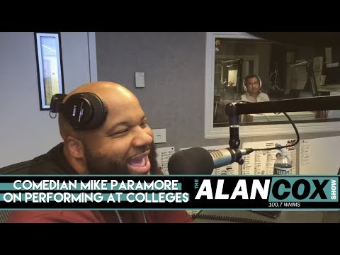 Comedian Mike Paramore On Performing At Colleges