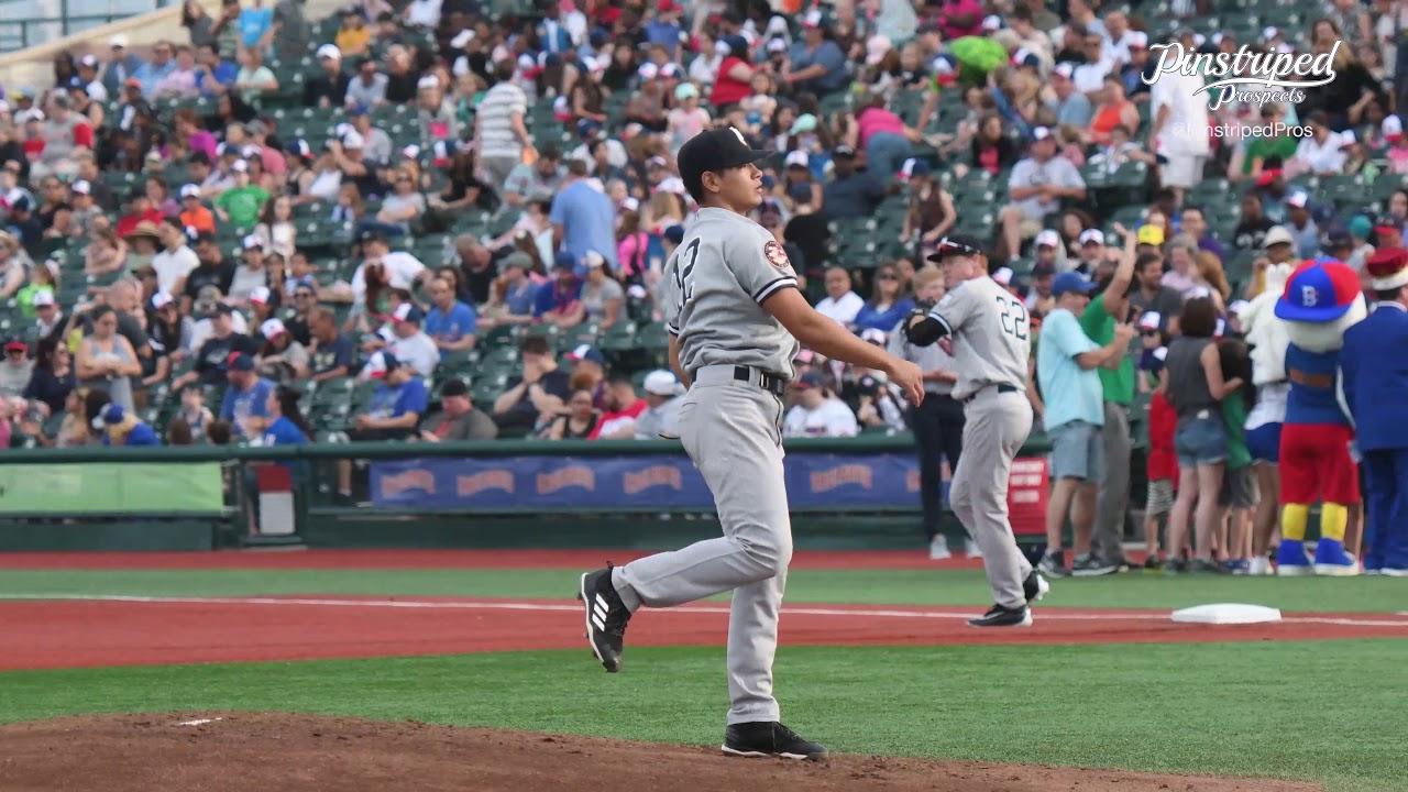 4k video, alex mauricio, right handed pitcher, staten island yankees